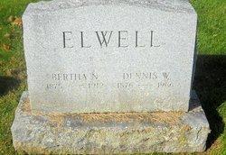 Bertha Emma <I>North</I> Elwell