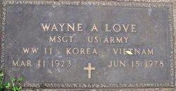 Wayne A Love