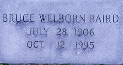 Bruce Welborn Baird