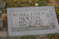 Mabel Faith <I>Stewart</I> Newton
