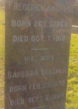 Barbara <I>Beecher</I> Andres