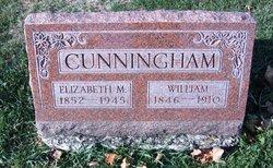 Elizabeth M <I>Willard</I> Cunningham