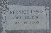 Bernice <I>Lewis</I> Abernathy