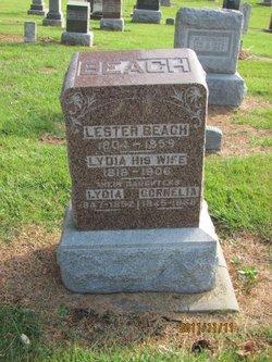 Lydia Mary <I>Chase</I> Beach