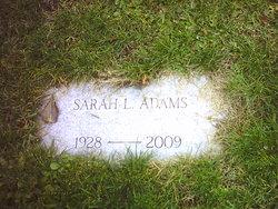 Sarah L. Adams