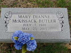 Mary Dianne <I>McKissack</I> Butler