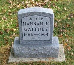Hannah Hattie <I>Waldron</I> Gaffney