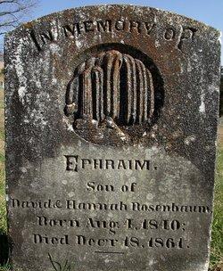 Ephraim Rosenbaum