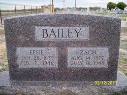 "Sanders Zachariah ""S. Z."" Bailey"