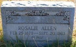 Rosalie <I>Rodgers</I> Allen