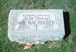 Arie Mae <I>Priest</I> Roeder