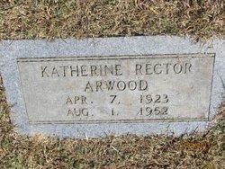 Katherine <I>Rector</I> Arwood