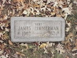"""James """"Bert"""" Zimmerman"""
