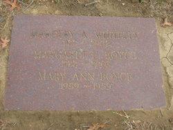 Margaret E. <I>Whiteley</I> Boyce