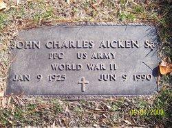PFC John Charles Aicken, Sr