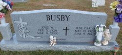 Jene <I>Carlin</I> Busby