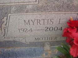 Myrtis Laurell <I>West</I> Watts