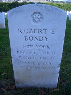 PFC Robert E Bondy
