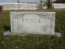 Mary Virginia <I>Duvall</I> Poole