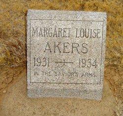 Margaret Louise Akers