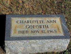 Charlotte Ann Goforth