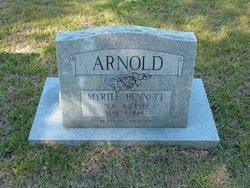 Myrtle Exa <I>Bennett</I> Arnold