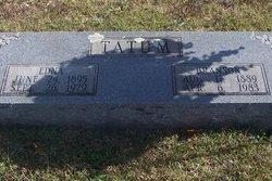 Edna Myrtle <I>Martin</I> Tatum