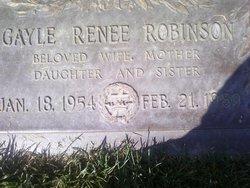 Gayle Renee <I>Sloss</I> Robinson