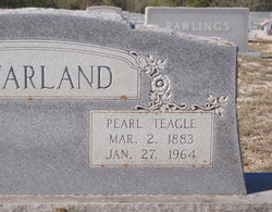 Pearl <I>Teagle</I> McFarland