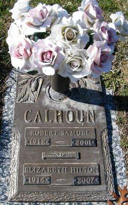 Margaret Elizabeth <I>Hilton</I> Calhoun