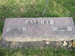 Viola <I>Sheridan</I> Asbury