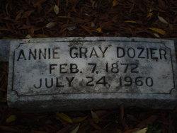 Annie Gray Dozier