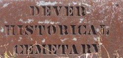 Dever Historical Cemetery