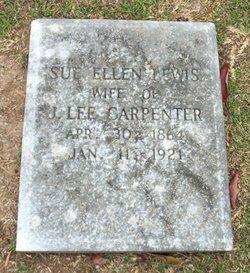 Sue Ellen <I>Lewis</I> Carpenter