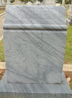 William Denny Gaston