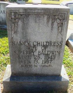 Nancy <I>Childress</I> Baldwin