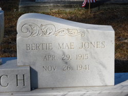 Bertie Mae <I>Jones</I> Futch