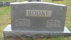 Charlie P Boone