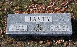 Augusta Jane <I>Kruse</I> Hasty