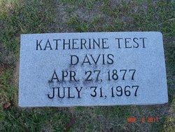 Katherine <I>Test</I> Davis