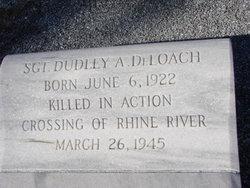 Sgt Dudley A DeLoach