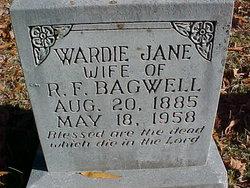 Wardie Jane <I>Robertson</I> Bagwell
