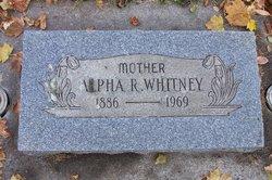 Alpha R. Whitney
