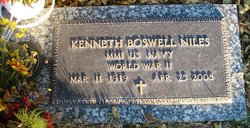 Kenneth Boswell Niles