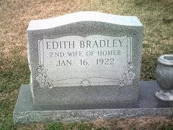 Edith <I>McManners</I> Bradley