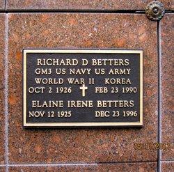 Richard D Betters