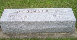 Katherine <I>Miller</I> Simmer