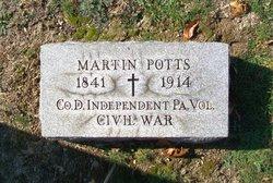 Pvt Martin Potts