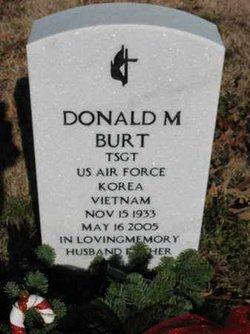 Donald M Burt