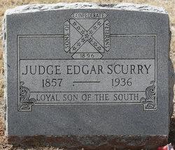 Judge Edgar Scurry